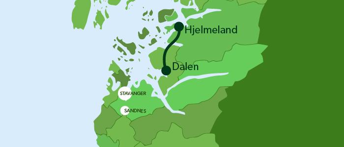 Dalen-Hjelmeland